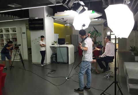 TCL特别栏目访谈摄影摄像花絮